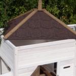konijnenhok met verwijderbaar dak