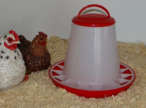 Kippen Voersilo 1kg kunststof