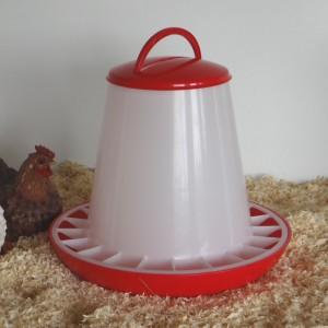 Kippen Voersilo 6kg kunststof