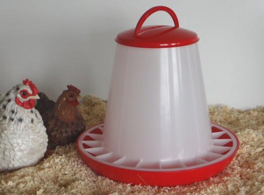 Kippen Voersilo 9kg kunststof
