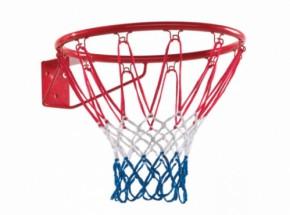 Basketbalring rood met net
