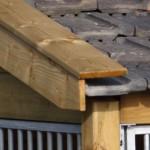 Hondenhok Rex 2 met keramische dakpannen