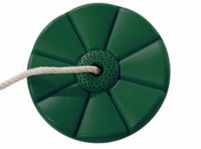 Kunststof schotelschommel groen