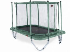 Avyna Pro-Line 238 Trampoline Groen - met safetynet en trapje