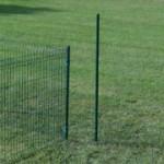 Lange palen voor in zachte ondergrond | op gras