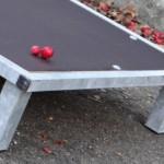 Metalen vlonder met betonplex bodemplaat