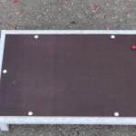 Metalen vlonder 75x50 cm