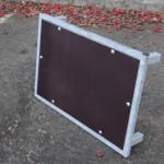 Vlonder metaal 75x50 cm