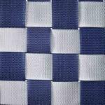 Dreamliner Basic schommel mat Large Zilver-Blauw