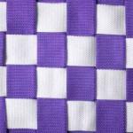 multikids schommelmand wit-violet