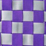 multikids schommelmand zilver-violet