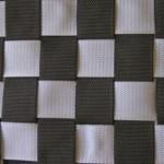 Dreamliner Basic schommel mat Large zilver-zwart