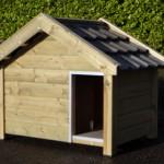 Hondenhok Reno wordt gemaakt van geïmpregneerd vurenhout