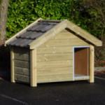 Hondenhok Reno Geisoleerd met vloerverwarming 160x106x123cm