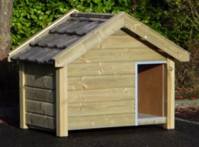 Geïmpregneerd houten hondenhok Reno 160x106x123cm