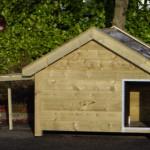 Hondenhok Snuf, geïmpregneerd vurenhout, 176x126x140cm