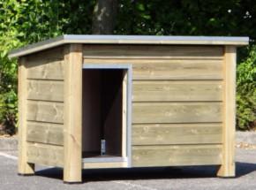 Hondenhok Ferro, doeltreffend en functioneel hondenhok voor buiten