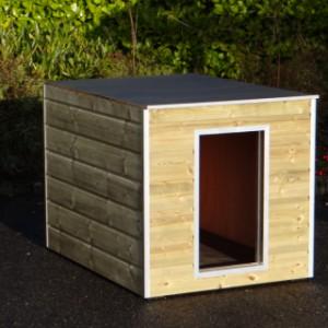 Geisoleerd hondenhok Cube 125x95 cm