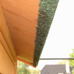 Groot konijnenhok met dakleer dak