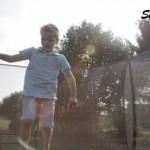 Trampoline ingraaf EXIT Silhouette met Safetynet