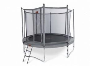 Pro-Line 14 trampoline 4,30m grijs met veiligheidsnet