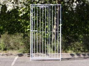 Kennelpaneel Met deur 100x184cm