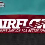 Trampoline BERG Champion 330 Flatground - BERG Airflow