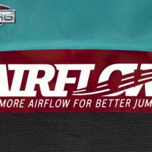 Trampoline BERG Champion 380 Flatground - BERG Airflow