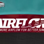 Trampoline BERG Champion 430 Flatground - BERG Airflow