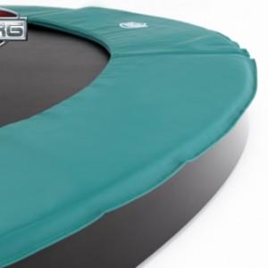 Trampoline BERG Champion 430 Flatground - ingraaf trampoline groen