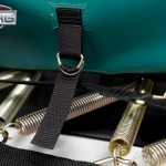 Trampoline BERG Champion 430 Flatground - Trampoline veren en rand