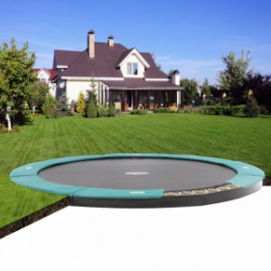 Trampoline BERG Champion 380 Flatground - ingraaf trampoline