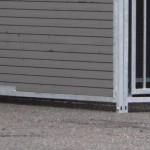 Kunststof hondenkennel FORZ WPC