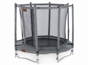 Pro-Line 6 trampoline 2,00m grijs met veiligheidsnet