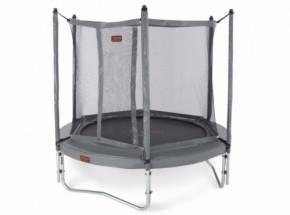 Pro-Line 8 trampoline 2,50m grijs met veiligheidsnet
