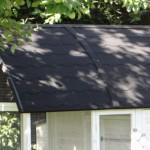 Groot konijnenhok XXL heeft een dak met dakleer