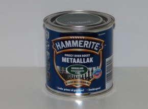 Hammerite metaallak Donkergroen hoogglans 250ml