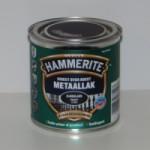 Hammerite metaallak Zwart zijdeglans 250ml
