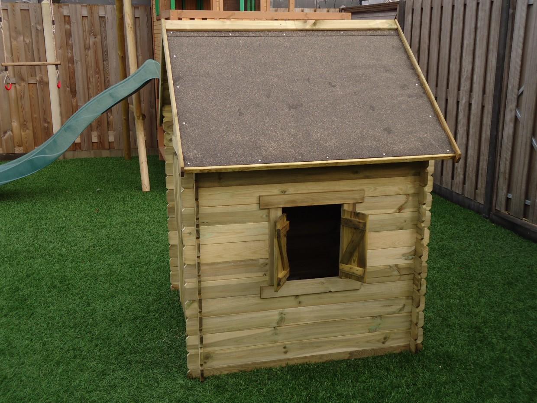 Populair Houten speelhuisje voor in de tuin? Speelhuisje Lois! @GB04