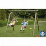 Houten schommel Prestige Garden Premium Swing, geschikt voor 2 schommelzitjes