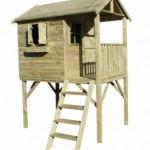 Speelhuisje hout Prestige Garden Funny XL - schuin voor