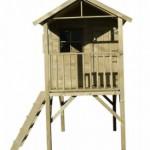 Speelhuisje hout Prestige Garden Funny XL - Hoog speelhuis op poten