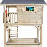 Houten speelhuisje Birdy Luxe - Geïmpregneerd houten speelhuis