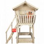Houten speelhuisje Birdy Luxe - houten buitenspeelgoed van Prestige Garden