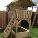 Birdy Luxe - houten speelhuisje, prachtig buitenspeelgoed