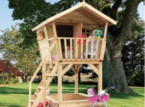 Speelhuisje Birdy Luxe - houten speelhuis van Prestige Garden