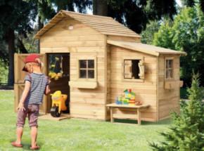 Houten speelhuis voor in eigen tuin: Butterfly Prestige Garden