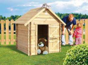 Speelhuisje Lois is een leuk houten speelhuisje voor in de tuin