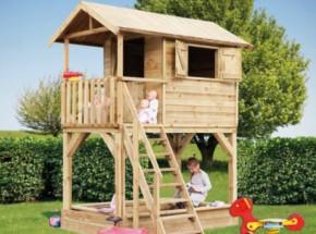 Houten speelhuisje Prestige Garden Treehouse Luxe