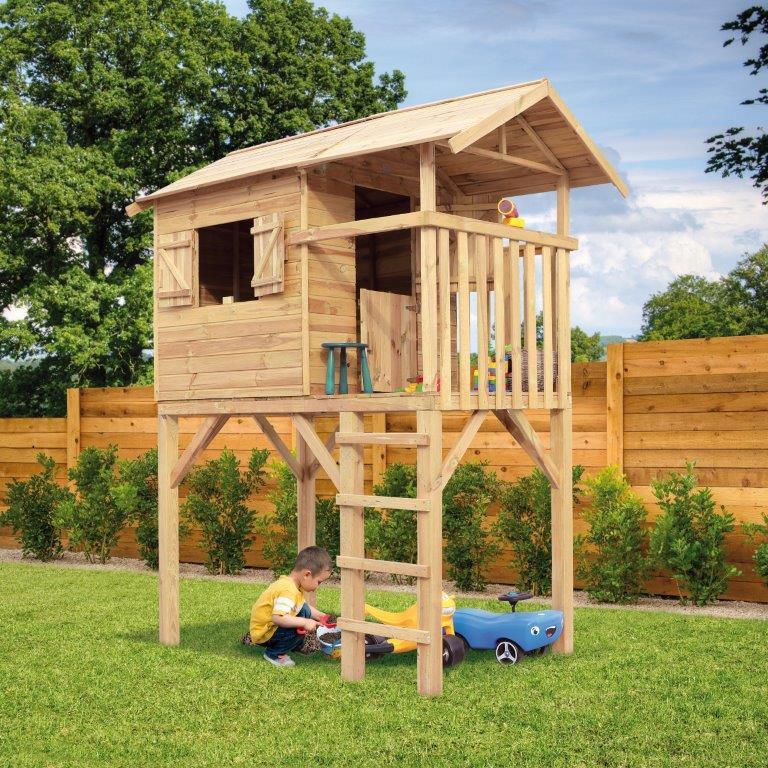 Extreem Speelhuisje Treehut | houten speelhuisje voor buiten #FC56